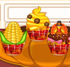 Cupcakes pour Thanksgiving