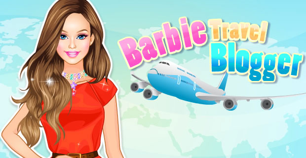 Barbie Blogueuse en voyage