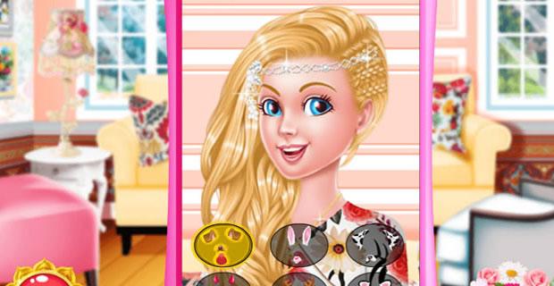 Barbie Look Vintage et Floral